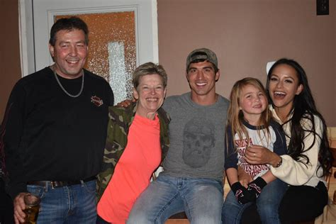 Jessica with Cody's family. Happy for them. | Rebrn.com