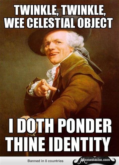 Joseph Ducreux: ...twinkle twinkle little star | Funny ...