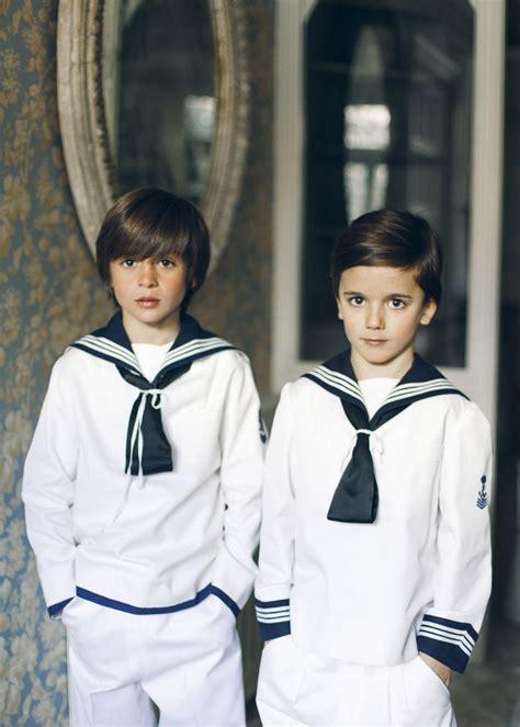Jóvenes marineros   10 trajes de Primera Comunión para ...