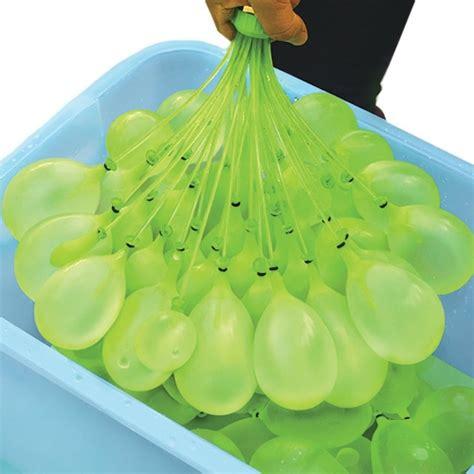 Juego de 100 globos de agua que se llenan a la vez ...