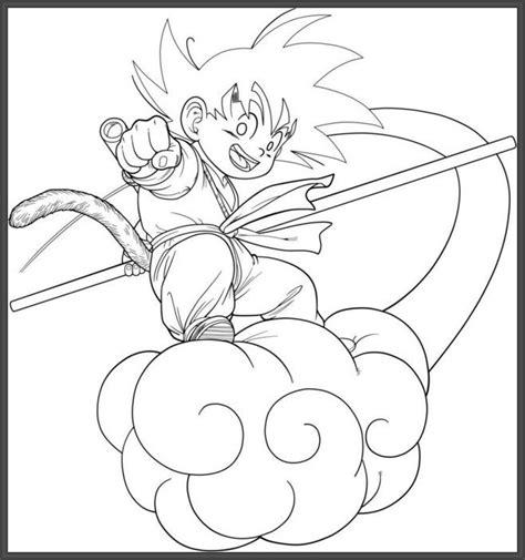 Juegos Dibujos De Goku Para Colorear
