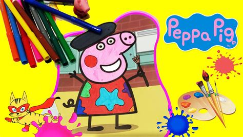 Juegos para pintar ???? Colorear dibujos para niños de Peppa ...