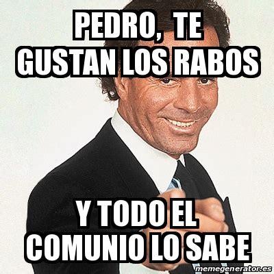 Julio Iglesias Y Lo Sabes Crear Memes Con Meme Generator ...