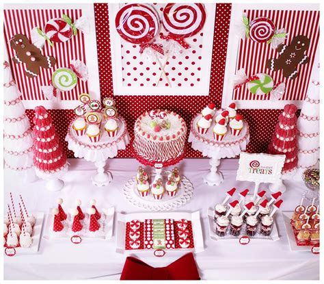 Kara s Party Ideas Candy Land Christmas Party | Kara s ...