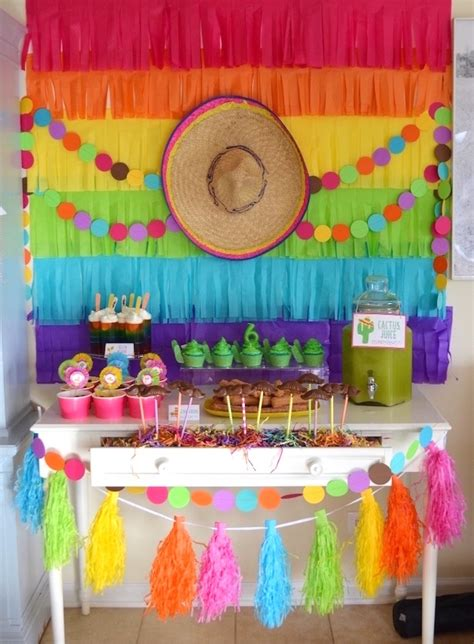 Kara s Party Ideas Colorful Fiesta Birthday Party | Kara s ...