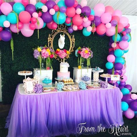 Kara s Party Ideas Vibrant Unicorn Birthday Party | Kara s ...