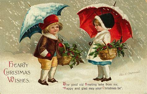 Karácsonyi üdvözlet a régi időkből ~ Kép tér