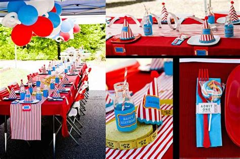 kids party ideas carnival | themedpartyworks