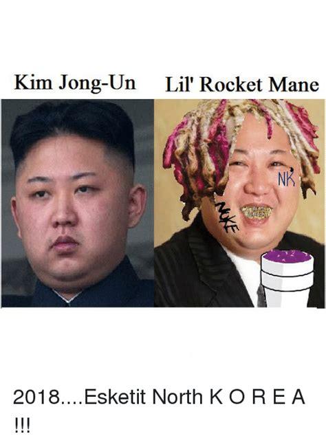 Kim Jong Un Lil  Rocket Mane | Kim Jong Un Meme on me.me