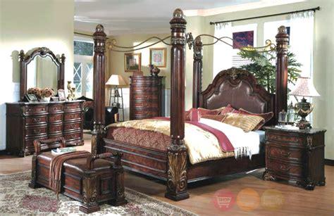 King Canopy Bedroom Set | Bedroom Furniture Reviews