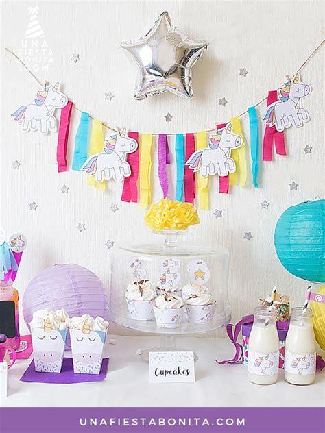 Kit de fiesta   unicornios | Fiestas