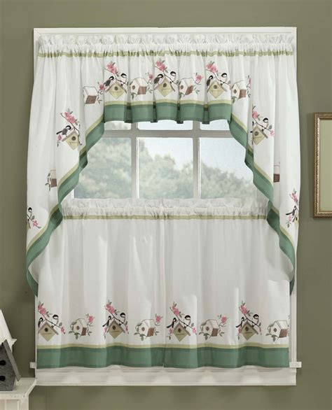 Kitchen Curtains > Cafe & Tier Curtains > Birdsong Kitchen ...