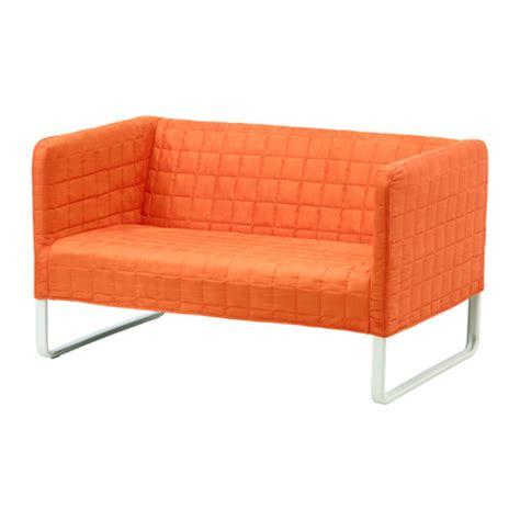 KNOPPARP Sofá 2 plazas   naranja   IKEA