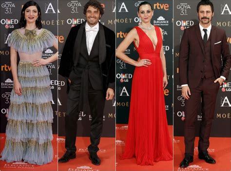 La alfombra roja de los Premios Goya de la anterior edición