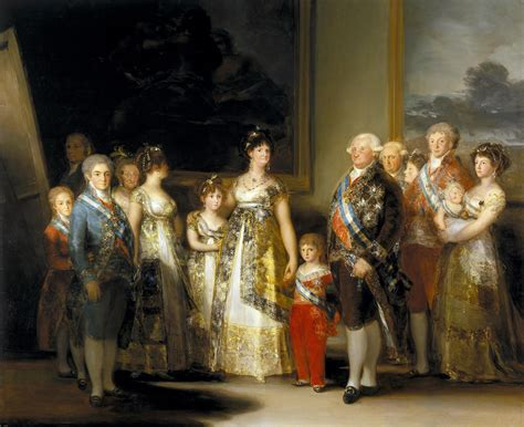 La familia de Carlos IV de Goya – Tuitearte