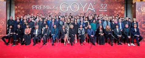 La foto de familia de los nominados a los Premios Goya 2018