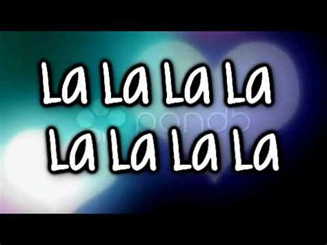 LA LA LA  Auburn Ft. Iyaz [Lyrics on Screen & description ...