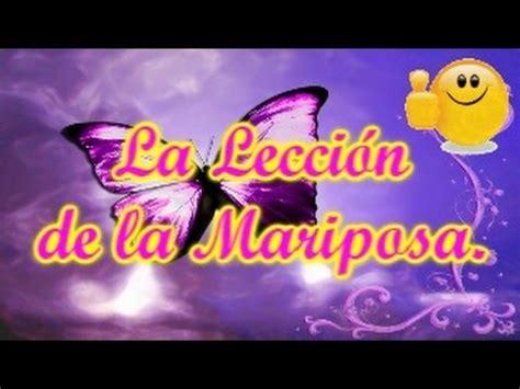 La Leccion de la Mariposa, Historias de Reflexion, Cuentos ...