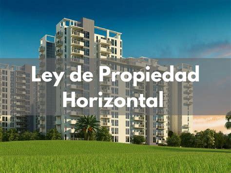 La Ley de Propiedad Horizontal explicada al detalle