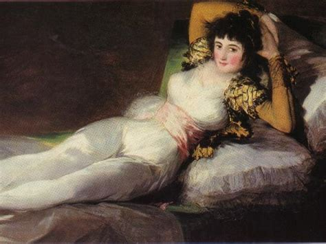 La maja desnuda por Goya   Picture of Prado National ...
