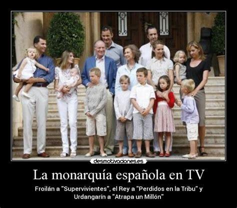 La monarquía española en TV | Desmotivaciones
