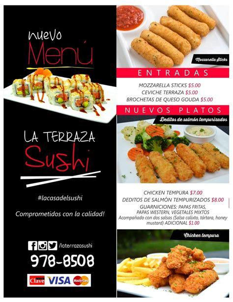 La Terraza Sushi   Menú by Ariel A Mendoza M   issuu