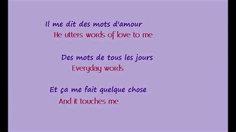 La Vie En Rose  w/ English French lyrics    YouTube