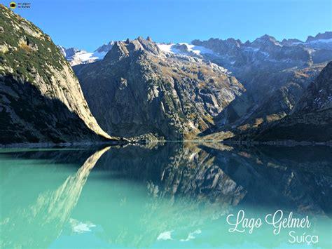Lago Gelmer e Gelmerbahn, o funicular mais inclinado da ...