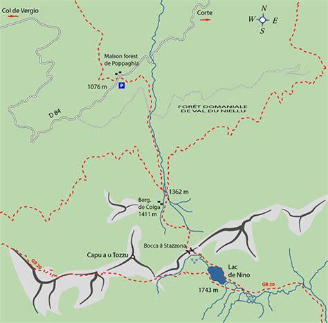 Lake Nino, Capu a u Tozzu, Niello, Corsica   Trekking, walks