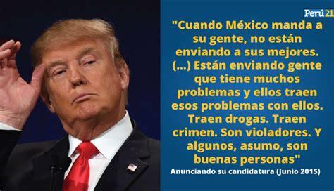 Las 13 frases que definen a Donald Trump, el presidente ...