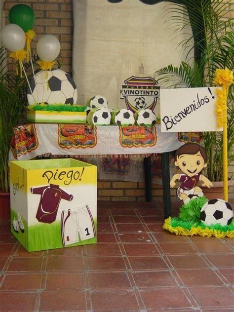 Las 25+ mejores ideas sobre Fiestas temáticas de fútbol en ...