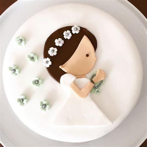 Las 25+ mejores ideas sobre Tortas para comunion en ...