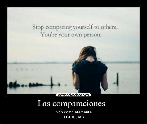 Las comparaciones | Desmotivaciones