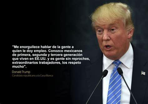 Las frases de Donald Trump en su polémica visita a México ...