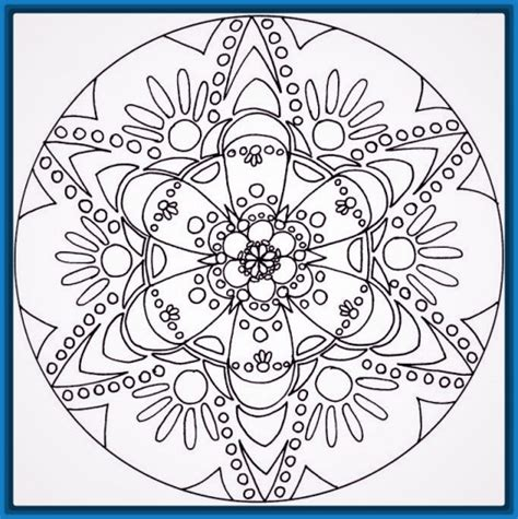 Las mejores Mandalas para Imprimir a Color | Dibujos de ...