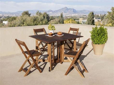 Las mejores mesas y sillas para tu terraza   Decoración