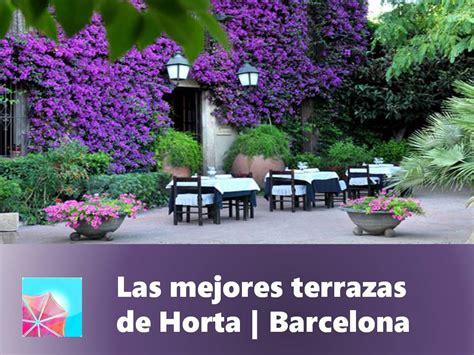 Las mejores terrazas de Horta| Barcelona | Terrazeo