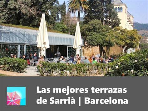 Las mejores terrazas de Sarrià | Barcelona | Terrazeo