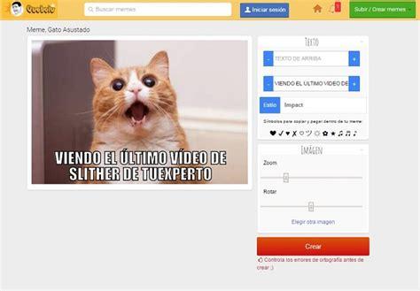 Las mejores webs para crear memes gratis   tuexperto.com