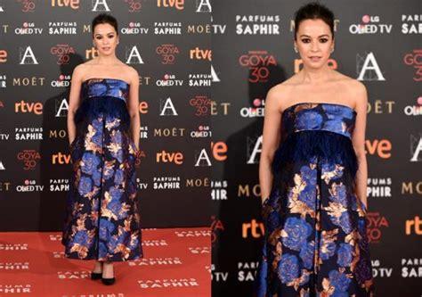 Las peor vestidas de los premios Goya 2016
