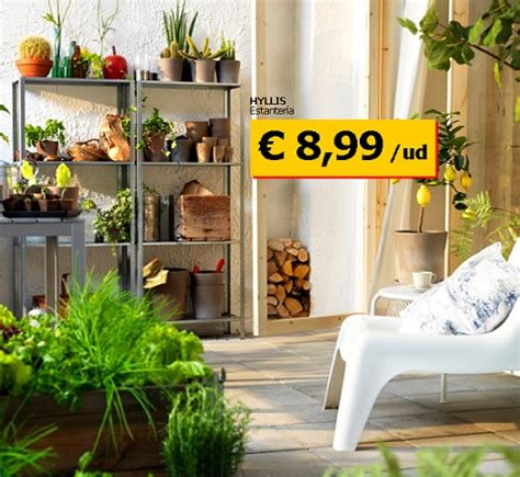 Las propuestas de ikea para terraza y jardín 2013