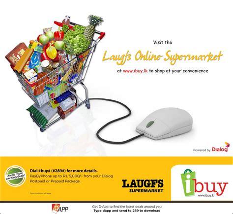 Laugfs Online Supermarket via Dialog ibuy.lk « SynergyY