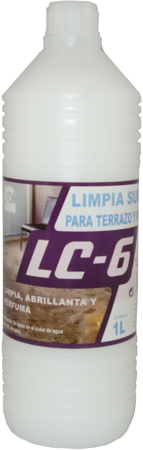 LC 6 Limpia suelos para terrazo y mármol | Gomesa y Crespo