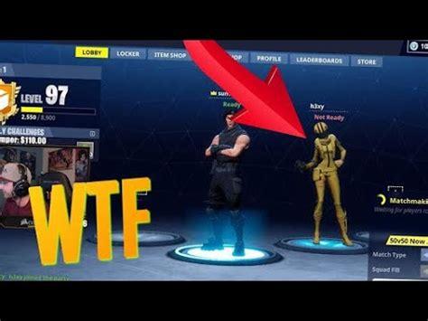 Leaked skin?!? | Fortnite   YouTube