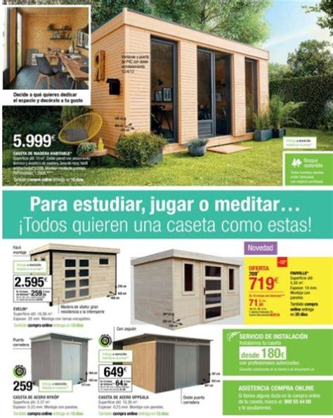 Leroy Merlín catálogo 2017: casetas de exterior | iMuebles