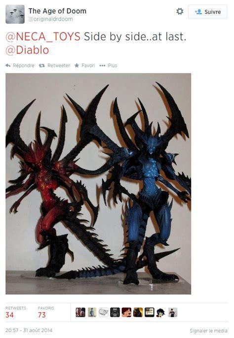 Les statuettes Diablo  classique  et  ombre  de NECA côte ...