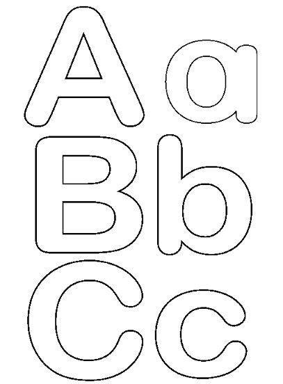 Letras para imprimir y recortar gratis | moldes ...