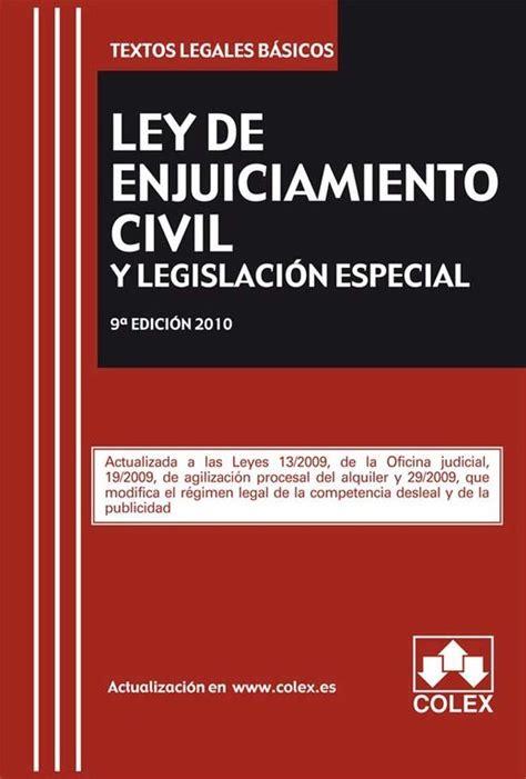 Ley de enjuiciamiento Civil   CursosMasters
