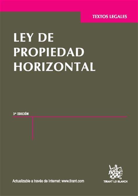 Ley de propiedad Horizontal   GONZALEZ BARRIO ASOCIADOS