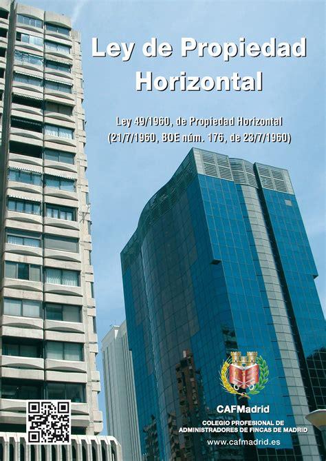 Ley de Propiedad Horizontal: preguntas y respuestas ...